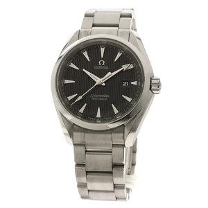 Omega 231.10.39.61.06.001 Seamaster Aqua Terra Watch Stainless Steel SS Men OMEGA