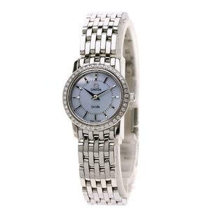 Omega 4575.74 Devil Prestige Watch Stainless Steel SS Diamond Ladies OMEGA