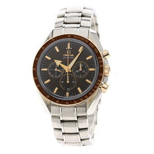 Omega 1957 321.90.42.50.13.002 Speedmaster Broad Arrow Watch Stainless Steel SS Men OMEGA
