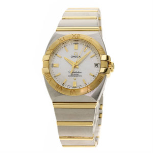 Omega 1390.7 Constellation Double Eagle 31mm Watch Stainless Steel SS K18YG Boys OMEGA