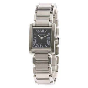 Cartier Tank Francaise SM Asia Limited Watch Stainless Steel SS Ladies CARTIER