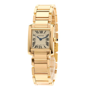 Cartier W500264H Tank Francaise SM watch K18 pink gold K18PG Ladies CARTIER