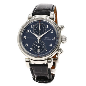 I-Bruce IW393402 Da Vinci Laureus Four Good Watch Stainless Steel Leather Mens IWC