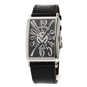 Franck Muller 1200SC REL FM 150 Limited Watch Stainless Steel Leather Men FRANCK MULLER