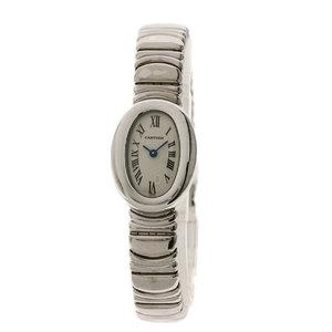 Cartier 2369 Mini-Benewir watch K18 white gold K18WG Ladies CARTIER