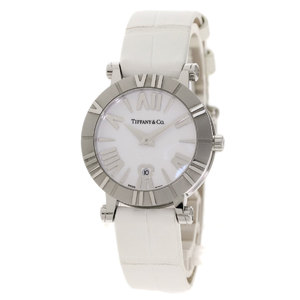 Tiffany Atlas Watch Stainless Steel Leather Ladies TIFFANY & Co.