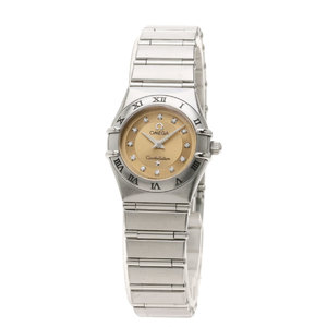 OMEGA Constellation Cindy Crawford 1997 Limited Watch Stainless Steel Ladies