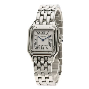 Cartier WSPN0007 Panthere MM Watch Stainless Steel SS Men's CARTIER