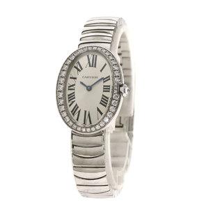Cartier WB520006 Venuir SM watch K18 white gold K18WG diamond ladies CARTIER