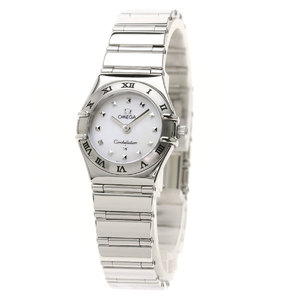 OMEGA 1561.71 Constellation Mini My Choice Watch Stainless Steel Ladies