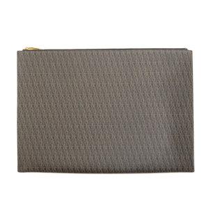 Saint Laurent Classic Toile Monogram Clutch Bag PVC Men SAINT LAURENT