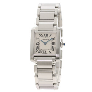 CARTIER W510080Q3 Neck Francaise SM Watch Stainless Steel ladies