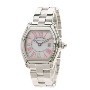 CARTIER W6206006 Roadster SM 2008 Christmas Limited Watch Stainless Steel ladies