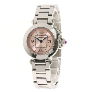 CARTIER W314008 Miss Pasha Watch Stainless Steel ladies