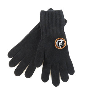 Fendi Zucca Gloves Wool Cashmere Ladies FENDI