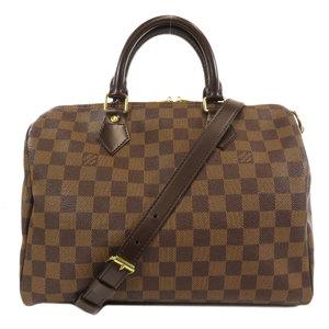 Louis Vuitton N41367 Speedy 30 Band Lier Damier Ebene Boston Bag Canvas Ladies LOUIS VUITTON