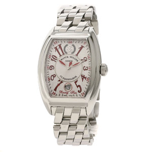 FRANCK MULLER 8005HSC Conquistador Rising Sun limited 450 watches Stainless Steel Mens