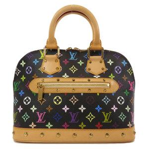 Louis Vuitton M92646 Alma Multicolor Handbag Monogram Canvas Ladies LOUIS VUITTON