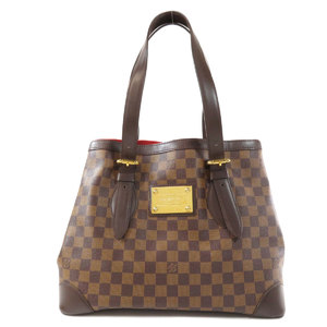Louis Vuitton N51204 Hampstead MM Damier Ebene Tote Bag Canvas Ladies LOUIS VUITTON