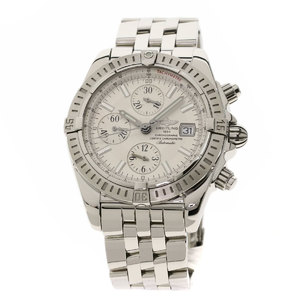BREITLING A13356 Chronomat Evolution Watch Stainless Steel Mens