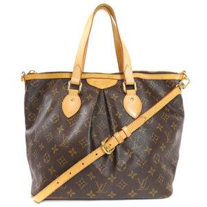 Louis Vuitton M40145 Palermo PM Monogram Tote Bag Canvas Ladies LOUIS VUITTON