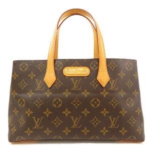 Louis Vuitton M45643 Wilshire PM Monogram Tote Bag Canvas Ladies LOUIS VUITTON