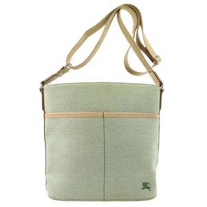 Burberry Blue Label Shoulder Bag Canvas Ladies BURBERRY