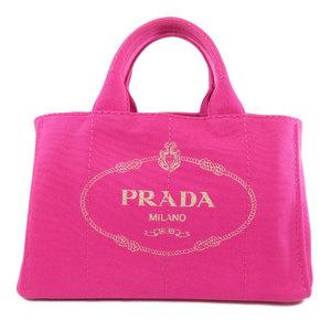 Prada Kanapa 2WAY Tote Bag Canvas Ladies PRADA