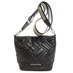 Michael Kors Outlet Logo Shoulder Bag Leather Ladies