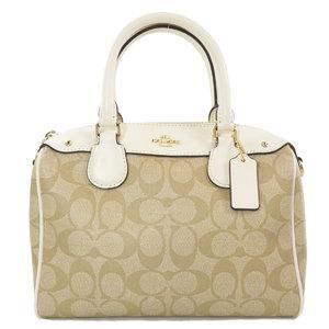 Coach F58312 Signature 2WAY Handbag PVC Leather Ladies COACH