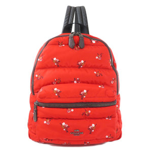 Coach F30667 Outlet Floral Backpack Daypack Nylon Ladies COACH