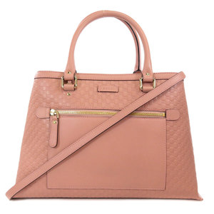 Gucci 510291 Outlet GG Micro Shima 2way Tote Bag Leather Ladies GUCCI