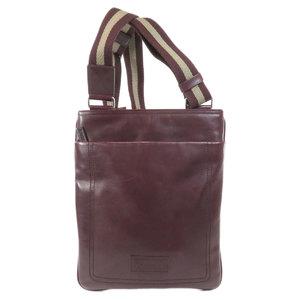 Barry logo embossed shoulder bag leather ladies BALLY