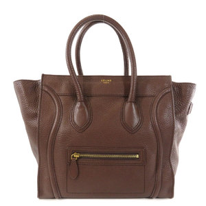 Celine Luggage Mini Tote Bag Calf Ladies CELINE