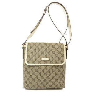 Gucci 223666 GG Supreme Shoulder Bag PVC Ladies GUCCI