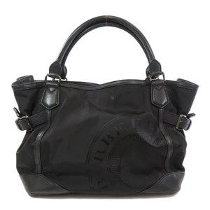 Burberry 2WAY Tote Bag Nylon Leather Ladies BURBERRY
