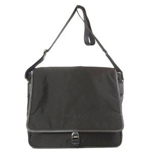 Prada V158 logo TESSUTO shoulder bag nylon men's PRADA