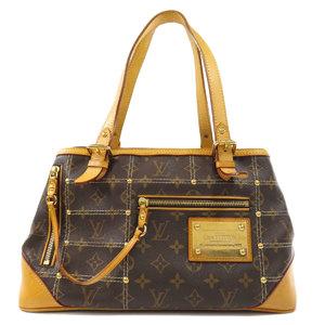 Louis Vuitton M40140 Rivet Monogram Tote Bag Canvas Ladies LOUIS VUITTON