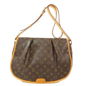 Louis Vuitton M40473 Menil Montin MM Monogram Shoulder Bag Canvas Ladies LOUIS VUITTON