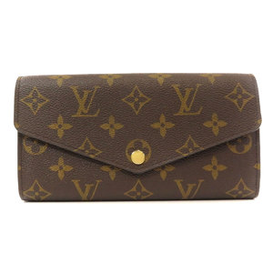 Louis Vuitton M62234 Portofeuille Sarah Monogram Fuchsia Long Wallet Canvas Ladies LOUIS VUITTON