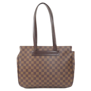 Louis Vuitton N51123 Parioli PM Damier Ebene Tote Bag Canvas Ladies LOUIS VUITTON