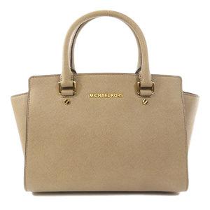 MICHAEL Michael Kors Michael Kors Selma 2way logo handbag leather ladies MICHAEL KORS