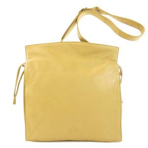 Loewe 390.82.008 Flamenco Anagram Shoulder Bag Calf Ladies LOEWE