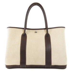 Hermes Garden Party PM Toile Tote Bag Ladies HERMES