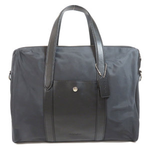 Coach F21807 Charles Slim Briefs Business Bag Nylon Men COACH