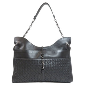 Bottega Veneta Intrecciato Shoulder Bag Leather Ladies BOTTEGA VENETA