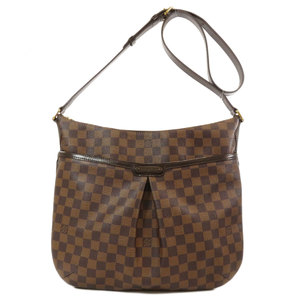 Louis Vuitton N42250 Bloomsbury GM Damier Ebenu Shoulder Bag Canvas Ladies LOUIS VUITTON