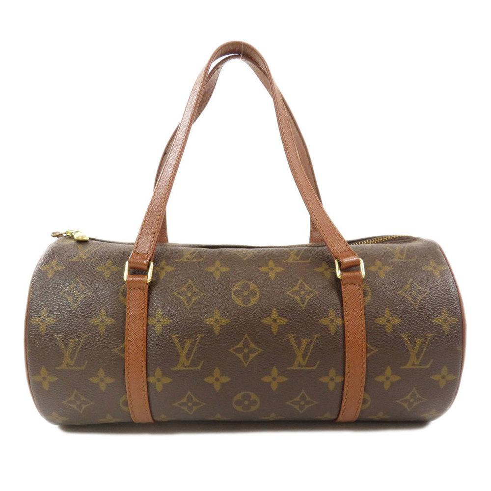 Louis Vuitton M51385 Papillon 30 Old Monogram Handbag Canvas Ladies LOUIS VUITTON