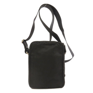 Prada V405 logo plate shoulder bag nylon ladies PRADA