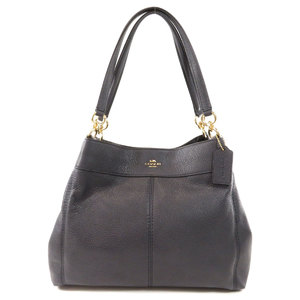 Coach F28997 logo type tote bag leather ladies COACH